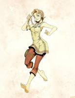 Zelda- Ilia sketch by GENZOMAN