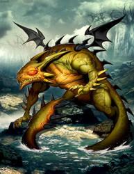 Swamp Dragon by GENZOMAN