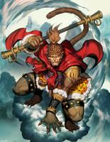 Sun Wukong by GENZOMAN