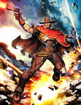 Overwatch - McCree by GENZOMAN