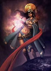 Mama Quilla by GENZOMAN