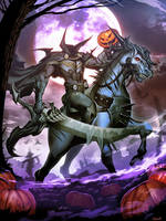 Headless Horseman - Halloween 2016 by GENZOMAN