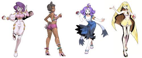 Pokegirls vol 14 by GENZOMAN