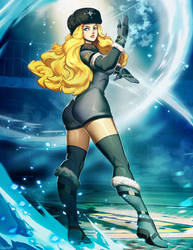 Street Fighter - Kolin by GENZOMAN