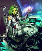 Gamora by GENZOMAN