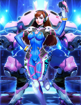 Overwatch - D.Va by GENZOMAN