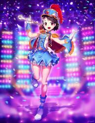 Chie Sasaki - Idolmaster Cinderella Girls by GENZOMAN