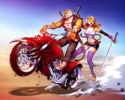 Rebel Tiger Death Ride by GENZOMAN