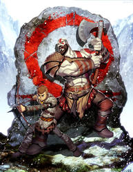 God of War by GENZOMAN