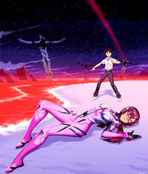 The End of Evangelion - Alternative ending by GENZOMAN