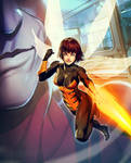 Wasp Plus - Marvel War of Heroes by GENZOMAN