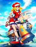 Mega Man Legends - Roll Caskett by GENZOMAN