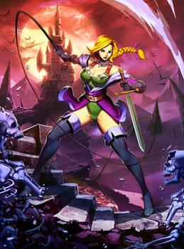 Sonia Belmont - Castlevania Legends by GENZOMAN