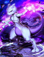 Mewtwo - Pokemon by GENZOMAN