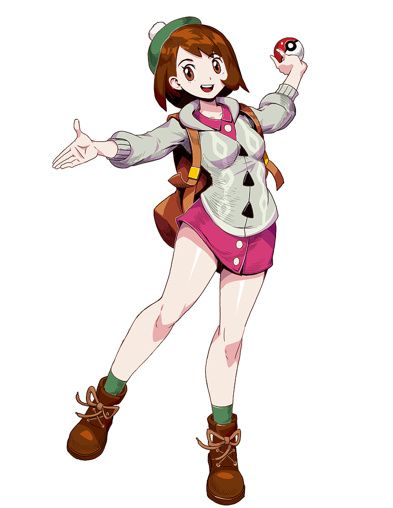 Pokemon Sword And Shield Female Trainer By Genzoman On Deviantart