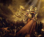 The battlefield belongs to me by GENZOMAN