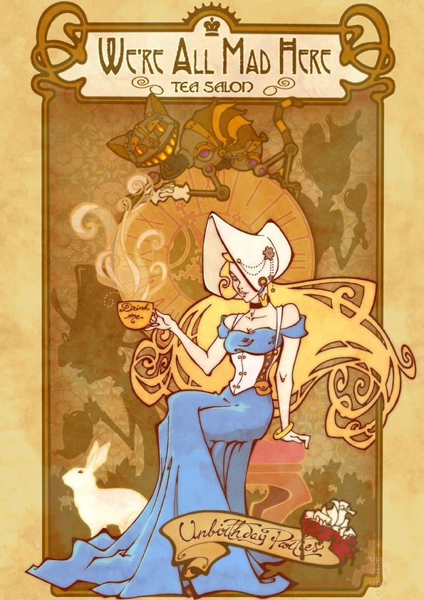 Alice :: Tea Salon by JinxedJinx