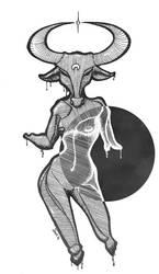 Monster Girl :: Minotaur by JinxedJinx