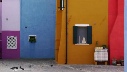 Geometrics :: Burano island by JinxedJinx