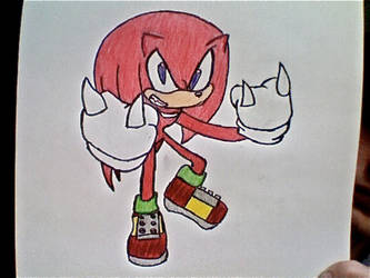 Knuckles by Tsuyoshi90