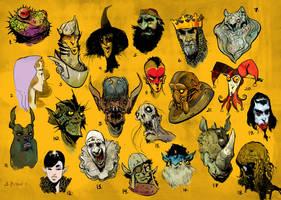 Random Characters by SvetoslavPetrov