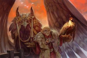 Griffin Rider by SvetoslavPetrov