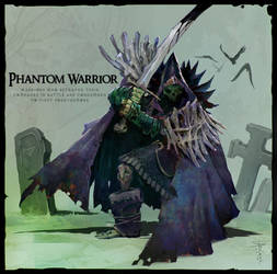 Phantom Warrior by SvetoslavPetrov