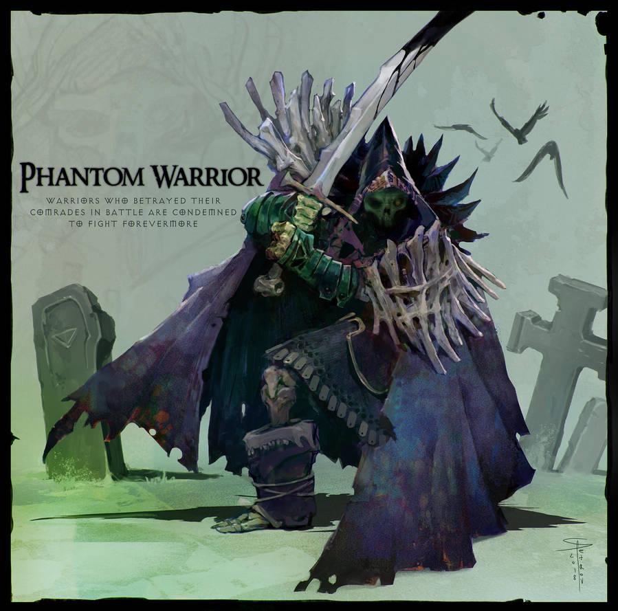Phantom Warrior by SvetoslavPetrov