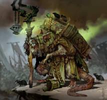 Lord Skrolk, Plaguelord of Clan Pestilens by SvetoslavPetrov