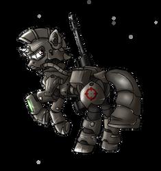 Steel Ranger Longshot by Lex-the-Pikachu