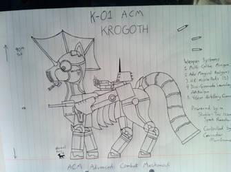 K-01 ACM KROGOTH by Lex-the-Pikachu