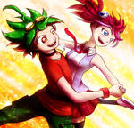 Action Duo by tanitak