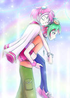 Arc-V: Let Me Carry You by tanitak