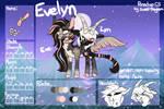 Evelyn | PONEDIGO REF #1 by MAYHEM-ADOPTS