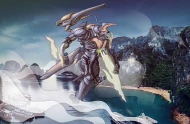 [Jaeger Contest] Dragon Edge- Vietnam Jaeger by ThaiTrieu