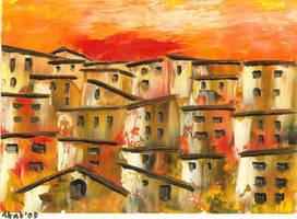 Italian Village by WasfiAkab