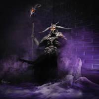 God of the Underworld by KatyaKeller