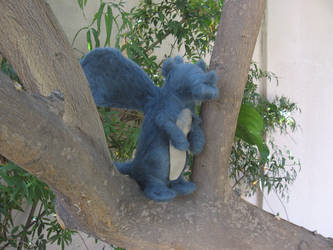 Percy the Felted Baby Dragon by Captn-Shamrock