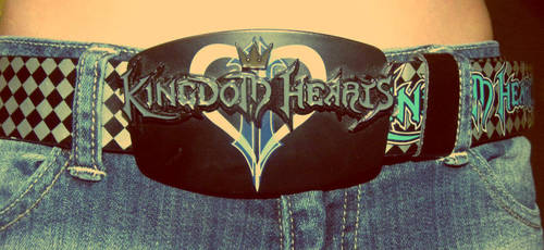 Kingdom Hearts, Belt buckle by Lain3y