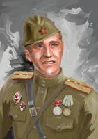 USSR Soldier by Chiaotzu