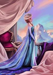 Elsa Queen of Arendelle by beiibis