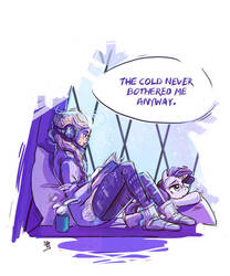 Winter is coming but we don't mind by beiibis