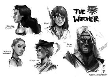 The Witcher - nostalgia by beiibis