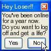 Hey, Loser. by kooshballinator