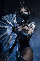 Kitana from MK X cosplay by Nemu013