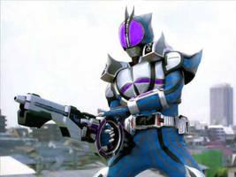 Kamen Rider Faiz-Shark Form by 99trev