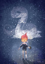 Snow Snake by igualillo