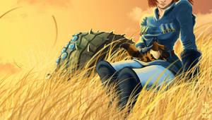 Princess Nausicaa by AizakMoon