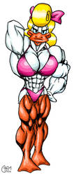 Shirley Loon Muscle by AlphaCentaurian