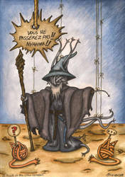 La pelote du Nya-Cthu Gandalf by Raanana